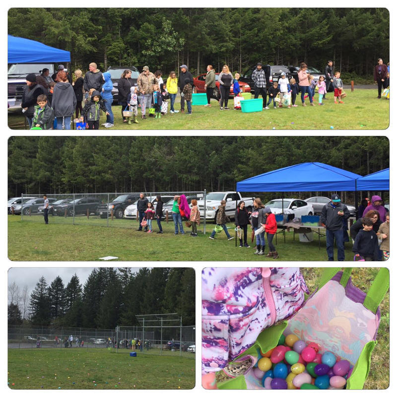 Easter Egg Hunt 2019 on the field