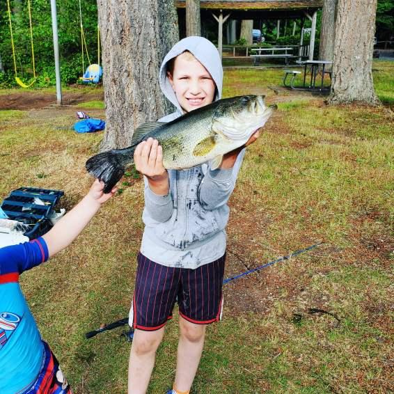 Jayden W age 9 bass